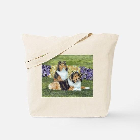 Sheltie Pair Tote Bag