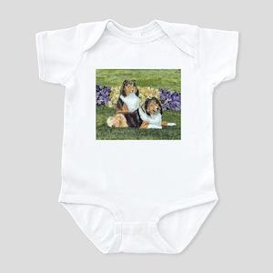 Sheltie Pair Infant Bodysuit