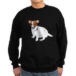 Jack Russell Painting Sweatshirt (dark)