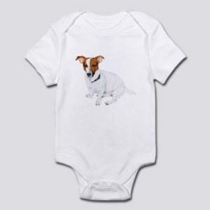 Jack Russell Painting Infant Bodysuit