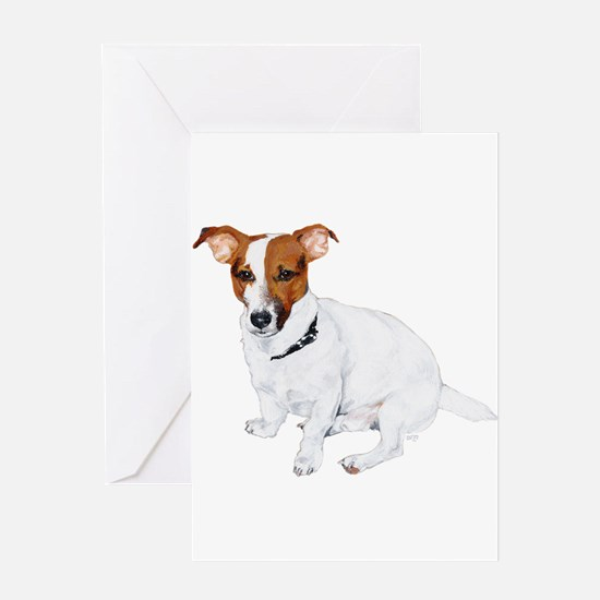 Jack Russell Painting Greeting Card