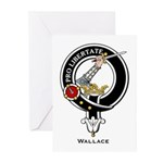 Wallace Clan Crest Greeting Cards (Pk of 10)
