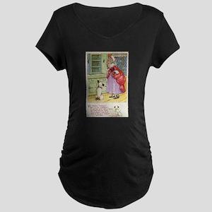 Old Mother Hubbard, #1 Maternity Dark T-Shirt