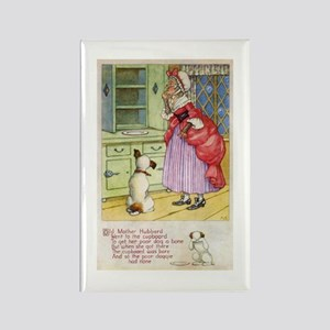 Old Mother Hubbard, #1 Rectangle Magnet
