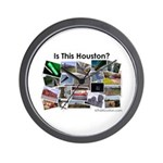 Is This Houston? Wall Clock