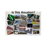 Is This Houston? Rectangle Magnet (100 pack)