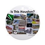 Is This Houston? Ornament (Round)
