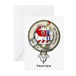 Trotter Clan Crest Greeting Cards (Pk of 10)
