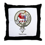Trotter Clan Crest Throw Pillow