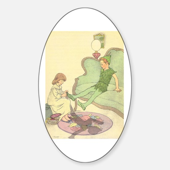 Old Mother Hubbard, #1 Sticker (Oval)