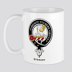 Stewart Clan Crest / Badge Mug