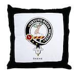 Skene Clan Crest / Badge Throw Pillow