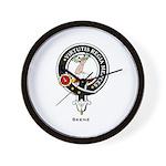 Skene Clan Crest / Badge Wall Clock