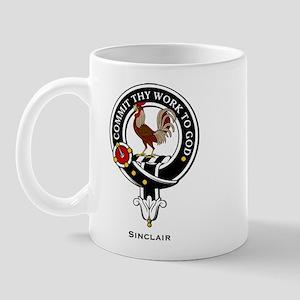 Sinclair Clan Crest / Badge Mug