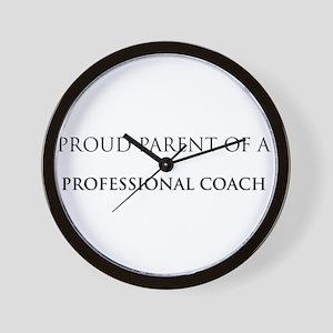 Proud Parent: Professional Co Wall Clock