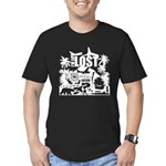 I'm So Lost Men's Fitted T-Shirt (dark)
