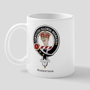 Robertson Clan Crest / Badge Mug