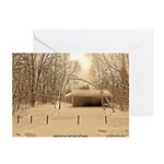 WInter In The Mountains Greeting Cards (Pk of 20)