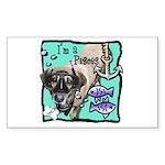 I'm a Pisces Sticker (Rectangle 50 pk)