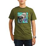 I'm a Pisces Organic Men's T-Shirt (dark)