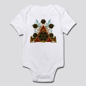 SOLOMON'S MAGIC PENTACLES Infant Bodysuit