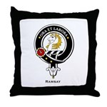 Ramsay Clan Crest / Badge Throw Pillow