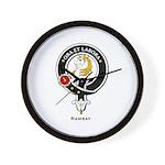 Ramsay Clan Crest / Badge Wall Clock