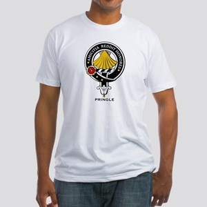 Pringle Clan Crest / Badge Fitted T-Shirt