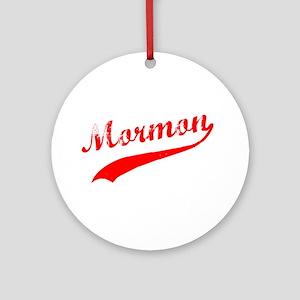 Mormon Ornament (Round)
