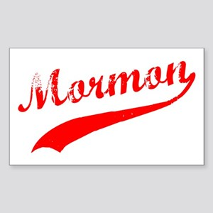 Mormon Sticker (Rectangle)