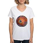 Peacock Women's V-Neck T-Shirt