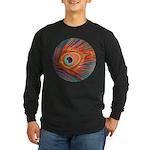 Peacock Long Sleeve Dark T-Shirt