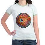 Peacock Jr. Ringer T-Shirt