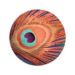 """Peacock 3.5"""" Button"""