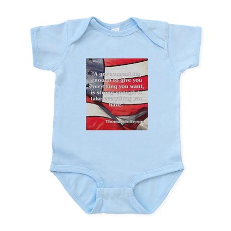 Big Government - Jefferson Infant Bodysuit