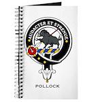 Pollock Clan Crest / Badge Journal