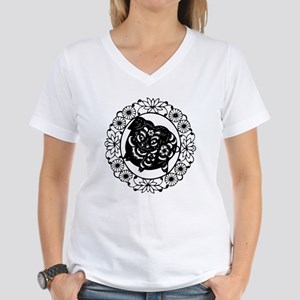 Pig Women's V-Neck T-Shirt