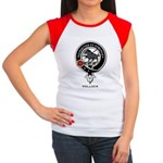 Pollock Clan Crest / Badge Women's Cap Sleeve T-Sh