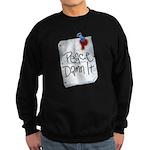 Peace Damn It 2 Sweatshirt (dark)