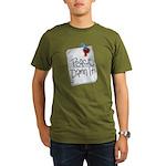 Peace Damn It 2 Organic Men's T-Shirt (dark)