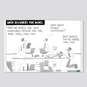 Data Discovery for Dudes Postcards (Package of 8)