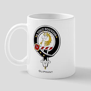 Oliphant Clan Crest Badge Mug
