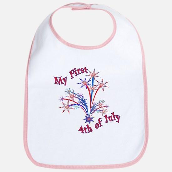 My First 4th of July Bib