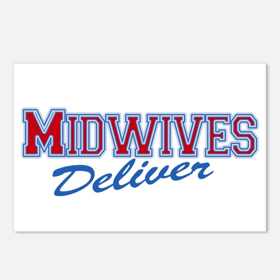 Midwives Deliver, Midwife Postcards (Package of 8)