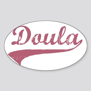 Doula Sticker (Oval)