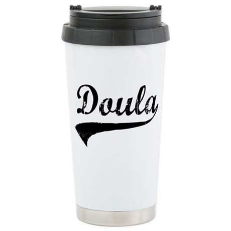 Doula Stainless Steel Travel Mug