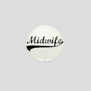 Midwife Mini Button