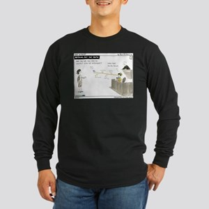 Nothing but the Truth Long Sleeve Dark T-Shirt