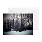 Winter Trees Greeting Cards (Pk of 10)