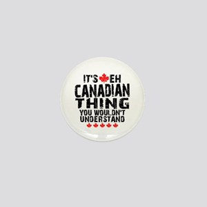 Canadian Thing Mini Button